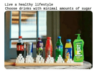 Reddit, Lifestyle, and Live: Live a healthy lifestyle  Choose drinks with minimal amounts of sugar  21  CLASSIC