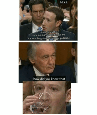 """Birthday, Memes, and Live: LIVE  didn't do anything  come on man, please believe me  it's your daughters birthday for gods sake  how did you know that <p>Zucc getting zucced via /r/memes <a href=""""https://ift.tt/2GQHIzx"""">https://ift.tt/2GQHIzx</a></p>"""
