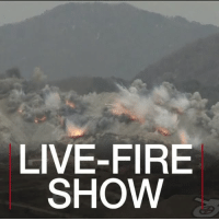 "Fire, Memes, and North Korea: LIVE-FIRE  SHOW 27 APR: US and South Korean forces have held a large-scale military exercise near the border with North Korea. Tensions on the Korean peninsula are rising as North Korea has vowed to conduct more missile and nuclear tests and the US says it plans to activate a missile defence system in South Korea ""within days"". The US stations around 28,500 troops in South Korea. For more on North and South Korea: bbc.in-livefire NorthKorea USA SouthKorea Asia Military Weapons Firepower IntegratedFirepowerExercise BBCShorts BBCNews @BBCNews"