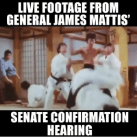 james: LIVE FOOTAGE FROM  GENERAL JAMES MATTIS  SENATE CONFIRMATION  HEARING