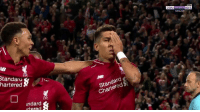 Memes, Goal, and Live: LIVE  HD 11  ENGLISH  tandara  hartered&  Standard  CharteredS  ndard  rtered Firmino has now scored a goal while using:   Both eyes No eyes One eye https://t.co/YZzGbz3TV6