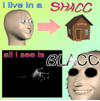 """Reddit, Live, and Com: live in a SHACC  alll seo le g  BLACC <p>[<a href=""""https://www.reddit.com/r/surrealmemes/comments/7y9bss/lifestyles_of_the_rich_and_famous/"""">Src</a>]</p>"""