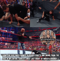 Memes, School, and Sorry: LIVE  LOOK THE KIDTAKES BUMPSALREADY THATS ONE MORE THAN IVE  HADIN MY ENTIRE CAREER SINCE LAST NIGHT AT WRESTLEMANIAT Goldberg put himself on blast 😂 Sorry I'm uploading so late, I didn't get tickets to RAW, so I flew from Orlando back to PGH at 8 PM :( I didn't get home until midnight, and I just finished RAW, so you'll be getting more memes, promise ;) But as for Mania, I have SO MANY stories, I don't want to type, so I'm gonna do a livestream where I basically tell you all how Mania was. I'll tell you all when it is, but as for now, I'm gonna be busy asf tomorrow, as I missed school yesterday and I have work tomorrow, so I'm gonna try to stay as active on here as possible ♥️ So I'm gonna get some sleep, see you guys in the morning 🙌🔥 kevinowens chrisjericho romanreigns braunstrowman sethrollins ajstyles deanambrose randyorton braywyatt tripleh shanemcmahon charlotte nikkibella samizayn johncena sashabanks brocklesnar goldberg bayley alexabliss themiz baroncorbin maryse wrestlemania wwememes wwememe wwefunny wrestlingmemes wweraw wwesmackdown