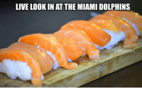 Nfl, Miami Dolphins, and Dolphin: LIVE LOOKIN ATTHE MIAMI DOLPHINS  EMES