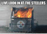 Nfl, Live, and Steelers: LIVE LOOKINAT THE STEELERS  Steelers  NFL ME