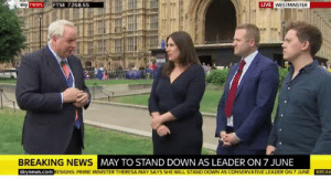 theoppositeofadults:   he snapped : LIVE  newsFTSE 7268.55  BREAKING NEWS  MAY TO STAND DOWN AS LEADER ON 7 JUNE  skynews.com RESIGNS: PRIME MINISTER THERESA MAY SAYS SHE WILL STAND DOWN AS CONSERVATIVE LEADER ON 7 JUNE BREAK theoppositeofadults:   he snapped