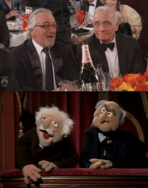 Knew I had seen this same scene before the golden globes last night: LIVE  OET MOET  22  MOFT Knew I had seen this same scene before the golden globes last night