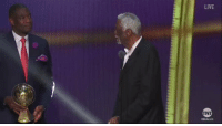 Sorry Westbrook, Harden, and Kawhi, Bill Russell is the real MVP this year  (Video via @Steve_OS) #NBAAwards https://t.co/B0IrifrEup: LIVE Sorry Westbrook, Harden, and Kawhi, Bill Russell is the real MVP this year  (Video via @Steve_OS) #NBAAwards https://t.co/B0IrifrEup