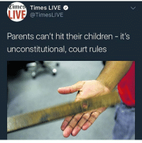 If you agree with this you a lil bitch, lul lul lul lul luh bitty whore: LIVE  Times LIVE  @TimesLIVE  Parents can't hit their children it's  unconstitutional, court rules If you agree with this you a lil bitch, lul lul lul lul luh bitty whore