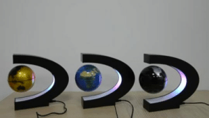 livelaughlovematters: It's high tech, levitating, planet earth globe, with colorful LED lights and a C-shaped magnetic field looks awesome in the light and even cooler in the dark! The world map LED Floating Globe Lamp spins around using an electronically controlled magnetic system. You'll be mesmerized as this floating globe continuously revolves in mid air, 24 hours a day, 365 days a year! Run by an electronically controlled magnetic system, this amazing gadget features an electric magnet and a magnetic field sensor, above, as well as a microprocessor and the electronic control components that make the device levitate, below. This will make a great and lovely gift for your Friends and Family!  => AVAILABLE HERE <= : livelaughlovematters: It's high tech, levitating, planet earth globe, with colorful LED lights and a C-shaped magnetic field looks awesome in the light and even cooler in the dark! The world map LED Floating Globe Lamp spins around using an electronically controlled magnetic system. You'll be mesmerized as this floating globe continuously revolves in mid air, 24 hours a day, 365 days a year! Run by an electronically controlled magnetic system, this amazing gadget features an electric magnet and a magnetic field sensor, above, as well as a microprocessor and the electronic control components that make the device levitate, below. This will make a great and lovely gift for your Friends and Family!  => AVAILABLE HERE <=