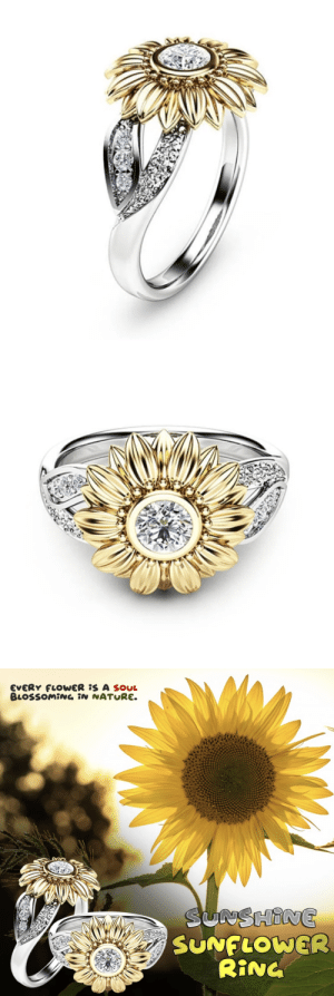 livelaughlovematters: Redefining style and glamour in a new way with these jewelry pieces. Sunshine Sunflower Ring is perfect for everyday wear and goes with everything. This dainty, minimalist style type of jewelry also makes the perfect gift for a loved one (mother daughter gift, wedding gift, anniversary or birthday gift, Mothers Day or Best Friends Gift Ring. => AVAILABLE HERE <= : livelaughlovematters: Redefining style and glamour in a new way with these jewelry pieces. Sunshine Sunflower Ring is perfect for everyday wear and goes with everything. This dainty, minimalist style type of jewelry also makes the perfect gift for a loved one (mother daughter gift, wedding gift, anniversary or birthday gift, Mothers Day or Best Friends Gift Ring. => AVAILABLE HERE <=