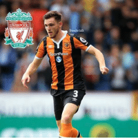 Liverpool are close to agreeing an £8 milion move for HullCity defender Andrew Robertson, according to the Daily Mail .: LIVERPOOL  OOT ALL CLUB  EST 1892  Transfer talk  rtPesa Liverpool are close to agreeing an £8 milion move for HullCity defender Andrew Robertson, according to the Daily Mail .