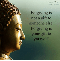 Love yourself... Forgive...: Living the  LAW of ATTRACTION  Forgiving is  not a gift to  someone else.  Forgiving is  your gift to  yourself Love yourself... Forgive...