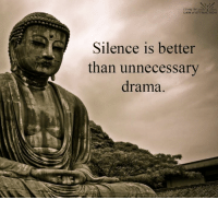 Silence is gold...: Living the  LAW of ATTRACTION  Silence is better  than unnecessary  drama. Silence is gold...