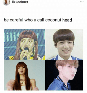 : lizkooknet  be careful who u call coconut head