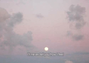 Never, How, and You: lll never tell you how I feel