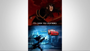 Lightning, Speed, and You: l'LL SHOW YOU LIGHTNING!  KA-CHOW! Im speed