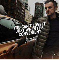 "eBay, Journey, and Lawyer: llll  YOU CANT LOVE IT  JUST WHEN IT'S  CONVENIENT  @GARYVEE People love entrepreneurship and owning a business when it leads to Fames and fortunes .. the issue is we have lives through many years of prosperity and so many youngsters are here for those things, I I really hope you are ""here"" for the love of the game, because that's who will be able to navigated the waters and more importantly even before any macro economic issues, loving this journey is the quickest path to happiness, so whether you are an entrepreneur who makes 2.7m a year or one that makes 27,000 a year, one that works 37 hrs a week or one that works 98, a teacher, lawyer,truck driver, eBay flipper, executive or working 40,50,60 hrs a week .. make sure you're doing Shit you Love ❤"