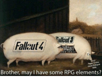 "Fallout 4 begs for ""RPG elements"" http://bit.ly/2kqFU1C: lloul  Fallgut4  NEW VEGAS  Choice  Good Dialogue  Skils  Brother, may l have some RPG elements? Fallout 4 begs for ""RPG elements"" http://bit.ly/2kqFU1C"