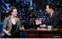 "Music, Target, and Covers: Lloyd Bishop / NBC <p><span>Jimmy and Evan Rachel Wood talked about the biggest perk of being a new parent: </span><a href=""http://www.latenightwithjimmyfallon.com/blogs/2013/11/evan-rachel-wood-is-a-new-parent-picked-up-a-romanian-accent/"" target=""_blank"">baby music covers of grunge songs</a><span>!</span></p>"