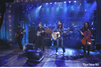 "Target, Http, and Waiting...: Lloyd Bishop/NBC <p>Our buddies <a href=""http://perform%20Another%20Is%20Waiting"" target=""_blank"">The Avett Brothers performed their single, ""Another is Waiting""</a> on the show last night!</p>"
