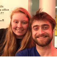 I WAS GOING TO WAIT UNTIL THE MORNING BUT I CANT!! LOOK AT HIM, I CANT ACTUALLY BELIEVE I MET DANIEL RADCLIFFE?!?!: lls  office  rRY I WAS GOING TO WAIT UNTIL THE MORNING BUT I CANT!! LOOK AT HIM, I CANT ACTUALLY BELIEVE I MET DANIEL RADCLIFFE?!?!
