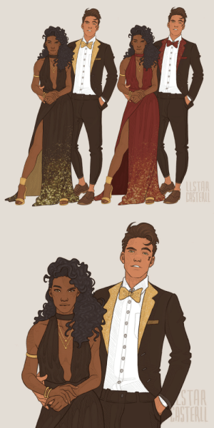 llstarcasterll:  Fancy Kevin & Thea commission 🥂 here's the fic it goes along with! : llstarcasterll:  Fancy Kevin & Thea commission 🥂 here's the fic it goes along with!