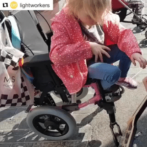 klubbhead: butterflyinthewell: A busker plays music for a blind autistic girl sitting in a wheelchair. She's being allowed to stim (flapping and rubbing her shirt) and respond to the music her own natural way. The busker places her hand on the guitar to let her see what is creating the music, and she smiles as he sings to her. They made a connection.That is autism acceptance. Take note. Many autistic people will open up to you like a flower if you gently connect with them in ways that work for them instead of forcing them to connect with you in ways that only work for you.I hope that sweet kid grows up to be a musician or artist! :) : Llu lightworkers  UOHT klubbhead: butterflyinthewell: A busker plays music for a blind autistic girl sitting in a wheelchair. She's being allowed to stim (flapping and rubbing her shirt) and respond to the music her own natural way. The busker places her hand on the guitar to let her see what is creating the music, and she smiles as he sings to her. They made a connection.That is autism acceptance. Take note. Many autistic people will open up to you like a flower if you gently connect with them in ways that work for them instead of forcing them to connect with you in ways that only work for you.I hope that sweet kid grows up to be a musician or artist! :)