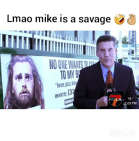 Funny, Horses, and Lmao: Lmao mike is a savage  TO MY B  horses piza  78  23 PM Damn @mikeymikemusic is the king of savages lmao, PARTY IS GOING DOWN @ 9-14 at 1723 Hudson Hollywood