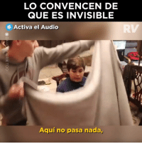 Internet, Audio, and Que: LO CONVENCEN DE  QUE ES INVISIBLE  Activa el Audio  RV  Aquí no pasa nada, Este es el mejor reto de internet que se pudo haber inventado 🤣😂  Credit: David Dobrik https://bit.ly/2rm9iso