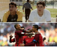 From young kids to national heroes.: LO  ESPORTE  INTERATIVO From young kids to national heroes.