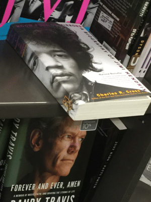 Books, Graffiti, and Life: Lo Reed  Dy lan, andi  dsnd he natune of  eples  Mhyal Cf  PAND RECOVERING MUSICIAN  w  nwid so  AL OPAF be  APT  porte,h i  Yo  eand  IRRO BIOGRAPHY OF JIMI HENDRI  R  National Bsstseller  Charles R.CROSS  Auther ot the Hew Yerk Times besteller Heavies Thae ear  EVERYO SAF  10%  FOREVER AND EVER, AMEN  aY TRAVIS.  A MEMOIR OF MUSIC FAITH AND BRAVING THE STORMS OF LIFE  JUST KIDS  PATTI SMITH  DYSON  GRAFFITI  SETH KAUFMAN  FOREVER AND FVER  クV アRAVS Don't put faces on books