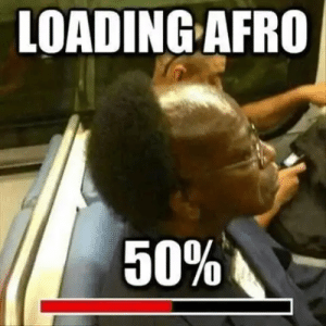 Afro, Loading, and Loading Afro: LOADING AFRO Loading Afro 50%