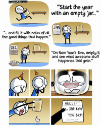 """Memes, Receipt, and Bad Luck: LoadingArtist.com  """"Start the year  T with an empty jar.  JAN  and fill it with notes of all  the good things that happen.""""  DEC  """"On New Year's Eve, empty it  and see what awesome stuff  happened that year.""""  RECEIPT  TOTAL: $449  CUSTOMER COPY Lmao 👊🏻TAG your HOMIES👊🏻 - Credit: @loading.artist Like for good luck ignore for bad luck - 👌🏼check out my youtube - in bio - Partner- @rize.xnuclear My backup- @memes_are_mee.2 My clan- @rize_above.all - Support appreciated😉 👌🏼 Tags 🚫 IGNORE 🚫 420 memesdaily Relatable dank Memes HoodJokes Hilarious Comedy HoodHumor ZeroChill Jokes Funny KanyeWest KimKardashian litasf KylieJenner JustinBieber Squad Crazy Omg Accurate Kardashians Epic bieber Weed TagSomeone memesaremee trump rap drake"""