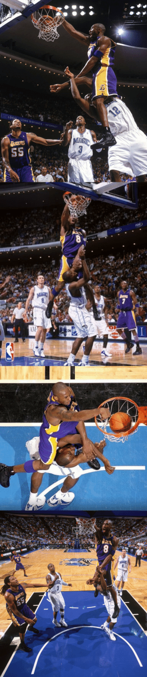 15 years ago today, Kobe Bryant baptized Dwight Howard!  One of the greatest dunks ever. https://t.co/Sx52FJEhMA: LOCAL LONG DISTANCE INTERNET  12  TAKERS  S5   FON  MAGIC  art  8  7  AM  ON  URANCE  NBA   UGHES ACS  8  TIKDOK HaK  напкоок  MAGIC  8 15 years ago today, Kobe Bryant baptized Dwight Howard!  One of the greatest dunks ever. https://t.co/Sx52FJEhMA