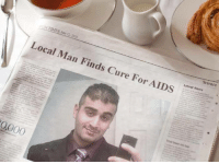 2soon?: Local Man Finds Cure For AIDS  Science  Latest News  0000  Thai beer tap 2soon?