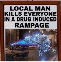 LOCAL MAN  KILLS EVERYONE  IN A DRUG INDUCED  RAMPAGE Overwatch Overwatchmemes funny meme memes