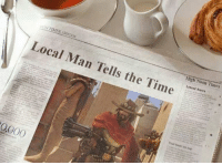 High Noon: Local Man Tells the Time  High Noon Times  Latest News  0000
