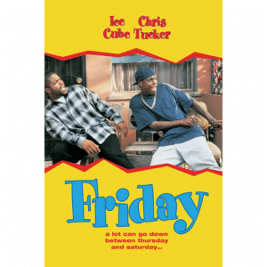 24 years ago today, the film #Friday starring Ice Cube & Chris Tucker was released! Comment your favorite character from the movie below! 👇🎥🤔 @IceCube @ChrisTuckerReal https://t.co/JTJup3V3zw: loe Chris  Cube Tucker  a lot can go down  between thursday  and saturday 24 years ago today, the film #Friday starring Ice Cube & Chris Tucker was released! Comment your favorite character from the movie below! 👇🎥🤔 @IceCube @ChrisTuckerReal https://t.co/JTJup3V3zw