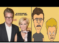 Memes, Msnbc, and 🤖: loe Scarborough and  Mika Brzezinski-MSNBC  fox21  ANS  sio  RICA