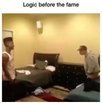 Oh no baby what is you doing: Logic before the fame Oh no baby what is you doing