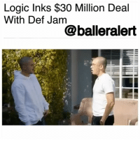 "Logic Inks $30 Million Deal With Def Jam - blogged by @MsJennyb ⠀⠀⠀⠀⠀⠀⠀⠀⠀ ⠀⠀⠀⠀⠀⠀⠀⠀⠀ In the wake of his most recent success, Def Jam Records has locked down, one of its top-selling artists with an upgraded $30 million deal. ⠀⠀⠀⠀⠀⠀⠀⠀⠀ ⠀⠀⠀⠀⠀⠀⠀⠀⠀ The Maryland rapper, singer, songwriter, and record producer, Logic, shared the news in an interview with Zane Lowe on Beats 1, revealing that upgrade changed his life. ⠀⠀⠀⠀⠀⠀⠀⠀⠀ ⠀⠀⠀⠀⠀⠀⠀⠀⠀ ""When I first signed my deal, the advance was like 200 grand,"" he said of his initial deal, which was signed back in 2013. ""So going from Section 8 and food stamps and welfare to 200 grand was life-changing, but the life change I'm talking about is the $30 million deal I just signed. That sh*t freaked me out. I felt like a target."" ⠀⠀⠀⠀⠀⠀⠀⠀⠀ ⠀⠀⠀⠀⠀⠀⠀⠀⠀ The rapper alluded to the new deal on a track from his latest mixtape, rapping, ""I just updated my old deal..told Def Jam no less than 20 mill…and they cut that sh*t!"" ⠀⠀⠀⠀⠀⠀⠀⠀⠀ ⠀⠀⠀⠀⠀⠀⠀⠀⠀ Congratulations to Logic on his new lucrative deal!: Logic Inks $30 Million Deal  With Def Jam  @balleralert Logic Inks $30 Million Deal With Def Jam - blogged by @MsJennyb ⠀⠀⠀⠀⠀⠀⠀⠀⠀ ⠀⠀⠀⠀⠀⠀⠀⠀⠀ In the wake of his most recent success, Def Jam Records has locked down, one of its top-selling artists with an upgraded $30 million deal. ⠀⠀⠀⠀⠀⠀⠀⠀⠀ ⠀⠀⠀⠀⠀⠀⠀⠀⠀ The Maryland rapper, singer, songwriter, and record producer, Logic, shared the news in an interview with Zane Lowe on Beats 1, revealing that upgrade changed his life. ⠀⠀⠀⠀⠀⠀⠀⠀⠀ ⠀⠀⠀⠀⠀⠀⠀⠀⠀ ""When I first signed my deal, the advance was like 200 grand,"" he said of his initial deal, which was signed back in 2013. ""So going from Section 8 and food stamps and welfare to 200 grand was life-changing, but the life change I'm talking about is the $30 million deal I just signed. That sh*t freaked me out. I felt like a target."" ⠀⠀⠀⠀⠀⠀⠀⠀⠀ ⠀⠀⠀⠀⠀⠀⠀⠀⠀ The rapper alluded to the new deal on a track from his latest mixtape, rapping, ""I just updated my old deal..told Def Jam no less than 20 mill…and they cut that sh*t!"" ⠀⠀⠀⠀⠀⠀⠀⠀⠀ ⠀⠀⠀⠀⠀⠀⠀⠀⠀ Congratulations to Logic on his new lucrative deal!"