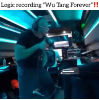 "Friends, Logic, and Memes: Logic recording ""Wu Tang Forever"" !!  (C Have you heard ysiv yet❓ Follow @bars for more ➡️ DM 5 FRIENDS"