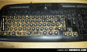 I saw the post about cleaning a keyboard.. so I decided to clean mine.. nopeomg-humor.tumblr.com: Logitech  Page  Dete  00000000000  0G000000000  Oc00000000  Page  CНECK OUT MЕМЕРIХ.COМ  MEMEPIX.COM I saw the post about cleaning a keyboard.. so I decided to clean mine.. nopeomg-humor.tumblr.com