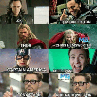 ~Deadpool: LOKI  TOM HUDDLESTON  THOR  CHRIS HEMSWORTH  CAPTAIN AMERICA  CHRIS EVANS  MARVEL GEEKLERI  TONY STARK  ROBERT DOWNEY JR. ~Deadpool