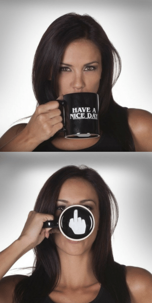lol-coaster:  Have A Nice Day Middle Finger Mug  : lol-coaster:  Have A Nice Day Middle Finger Mug