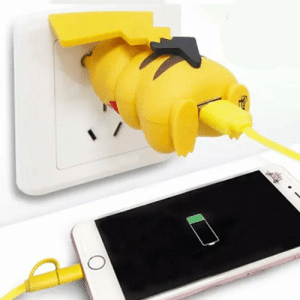 Butt, Lol, and Phone: lol-coaster:Pikachu Butt Plug Phone Charger