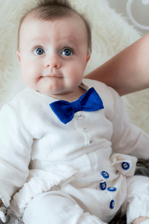Comfortable, Lol, and Tumblr: lol-coaster:    White linen Baptism suit     White linen Christening shirt is slim and very soft, also decored with blue stylish bow tie. It's sewn from softened linen and is fasten with buttons on the chest; thus there are tiny slits on the side, the cuff's width is frowning with linen drawstring on the bottom. Very easy dressed, deep closure with buttons, the zipper is sewn on the side. With this shirt young boy will feel at ease and comfortable.
