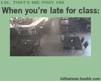 Late For Class
