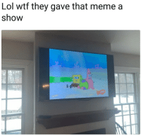 Lol, Wtf, and They: Lol wtf they gave that memea  show